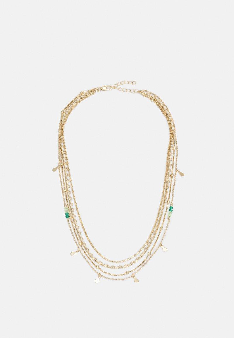Pieces - PCSANGA NECKLACE  - Necklace - gold-coloured