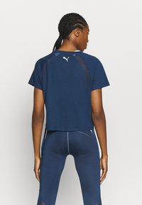 Puma - PAMELA REIF X PUMA COLLECTION  BOXY TEE - T-Shirt print - blue - 2