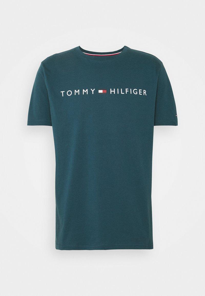 Tommy Hilfiger - TEE LOGO - Pyjamapaita - blue