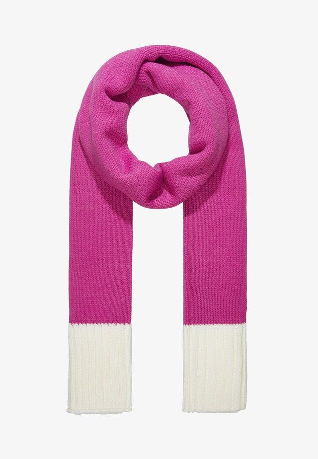 Huivi - pink/white