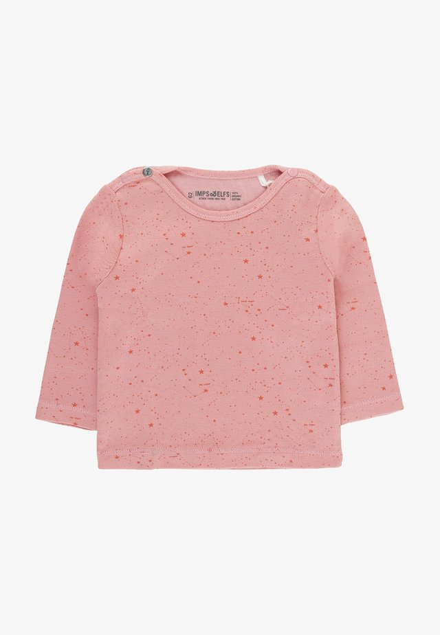 JIP2 - Long sleeved top - doll pink / dark doll pink