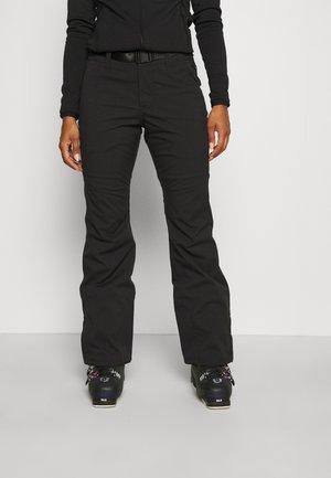 STAR SLIM PANTS - Snow pants - black out