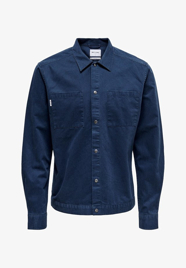 TWILL - Shirt - blue