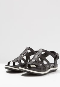 Geox - VEGA - Ankle cuff sandals - black