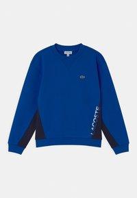 Lacoste - LOGO BLOCK  - Sweatshirt - lazuli/navy blue - 0