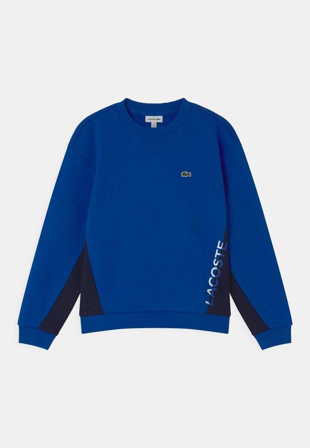LOGO BLOCK  - Sweatshirt - lazuli/navy blue