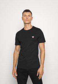 Guess - TEE - Basic T-shirt - jet black - 0