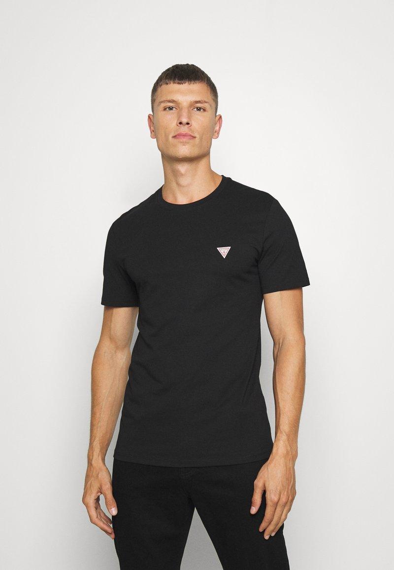 Guess - TEE - Basic T-shirt - jet black