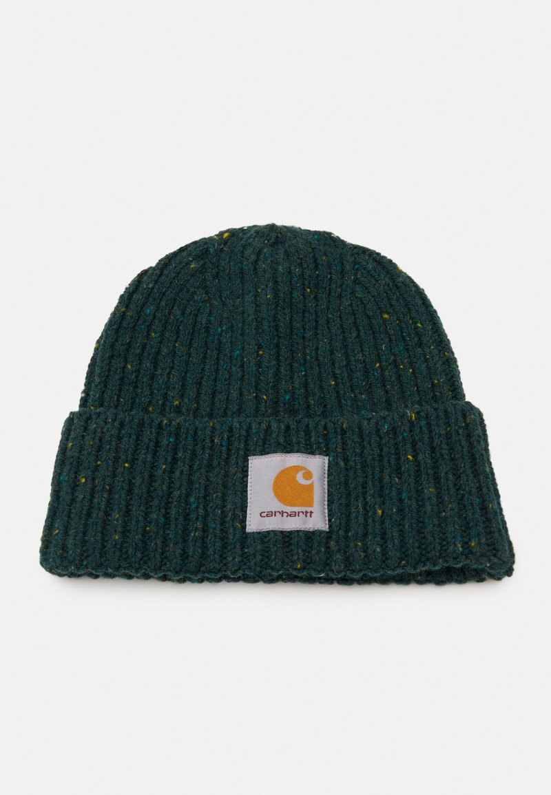 Carhartt WIP - ANGLISTIC BEANIE  - Beanie - bottle green heather