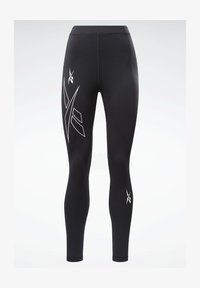 Reebok - MEET YOU THERE REECYCLED LEGGINGS - Collant - black - 5