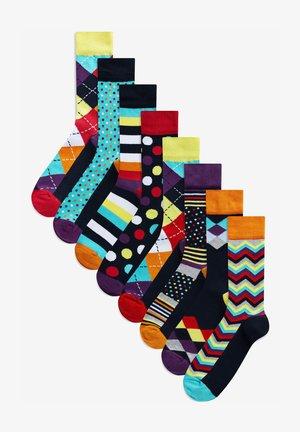 EIGHT PACK - Socks - blue