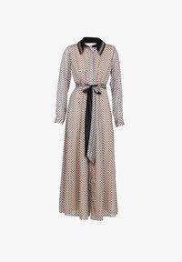 NIZA - LARGO CON ESTAMPADO LUNARES - Maxi dress - beige - 5