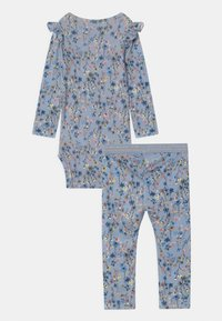 Name it - NBFTESSIE SET - Trousers - dusty blue - 1