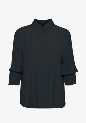 NOLACR - Button-down blouse - pitch black