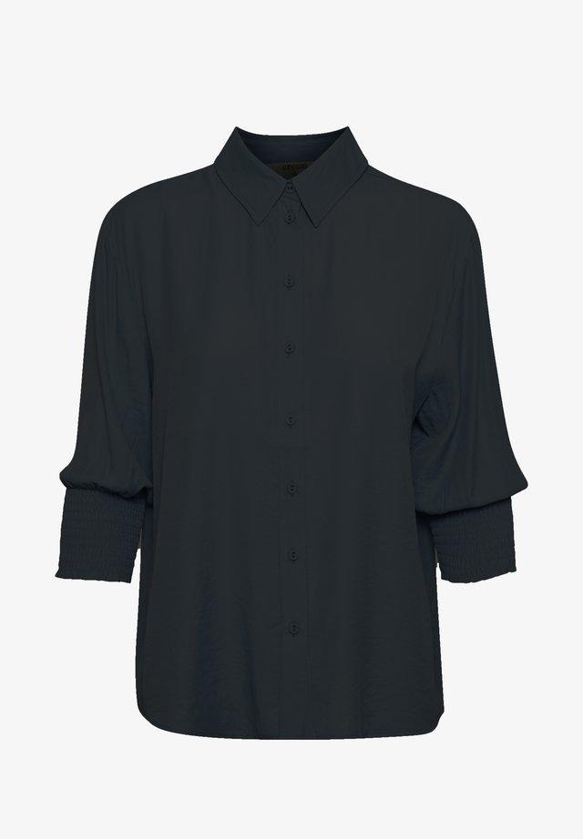 NOLACR - Overhemdblouse - pitch black