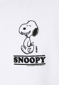 sandro - TEE SNOOPY SMILE - Print T-shirt - blanc - 2