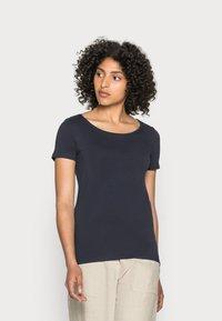 Esprit - CORE  - Basic T-shirt - navy - 0