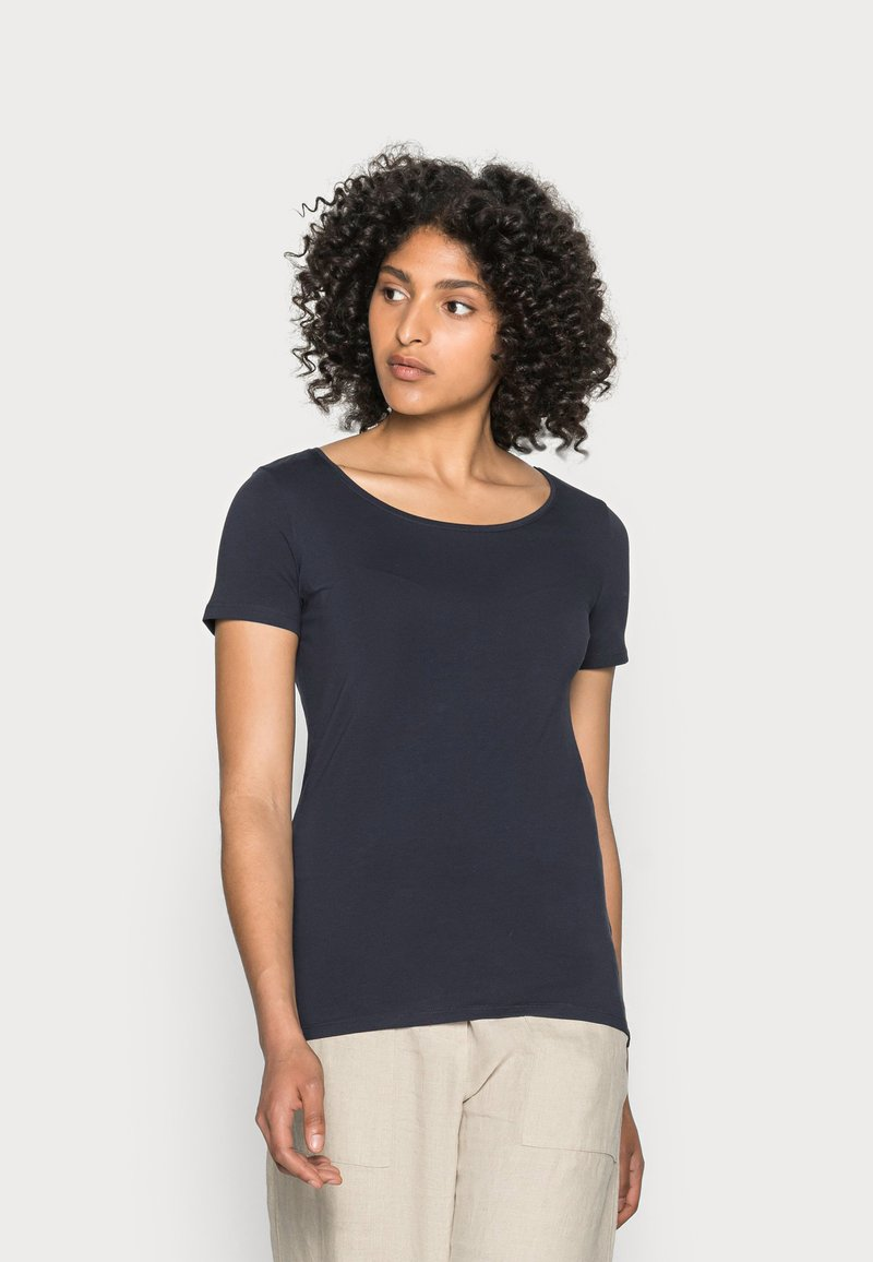 Esprit - CORE  - Basic T-shirt - navy