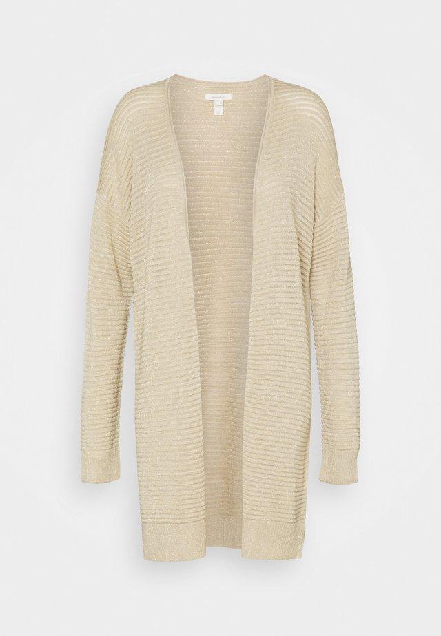 CARDI DORADO - Cardigan - beige/camel