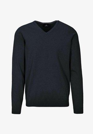 Sweatshirt - blue navy mel.