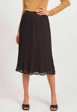 PLISSIERTES - Pleated skirt - black