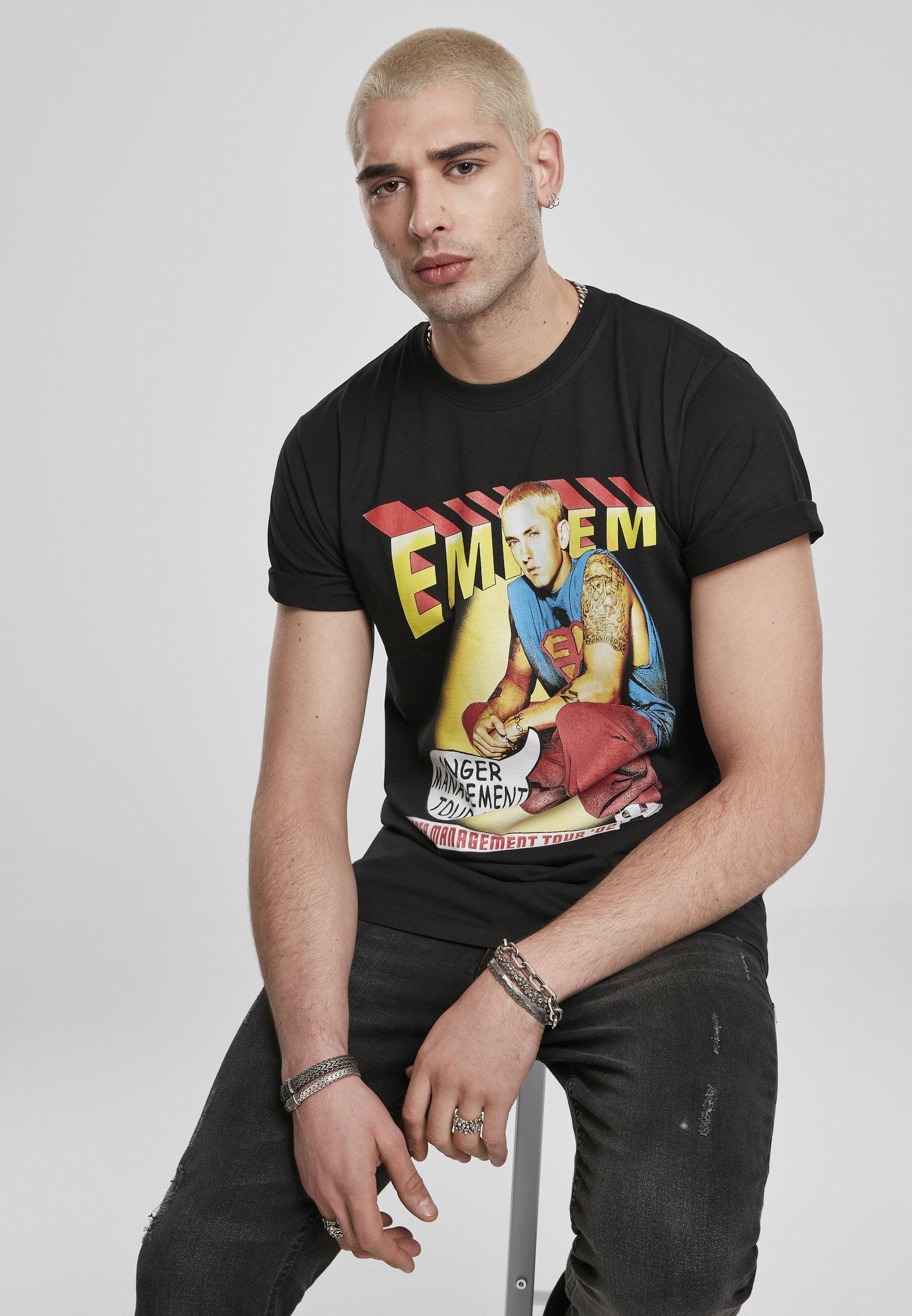 Mister Tee EMINEM ANGER COMIC  - Print T-shirt - black o5eqd