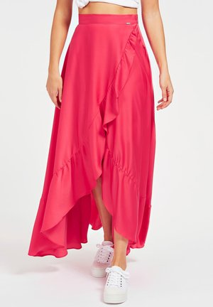 RÜSCHEN - Wrap skirt - rose