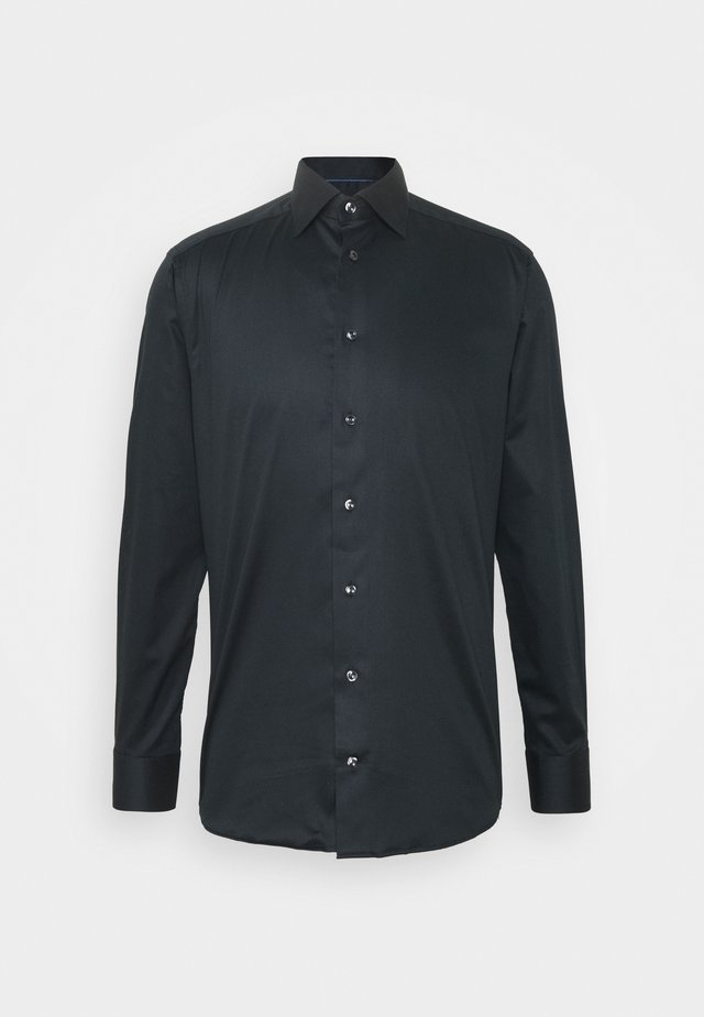 SOLID TWILL STRETCH - Business skjorter - black