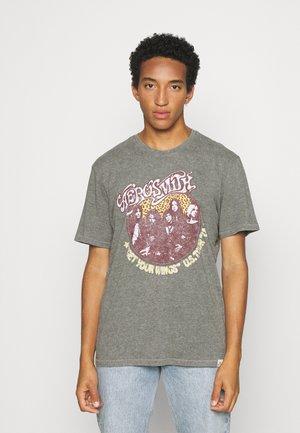 ONSAEROSMITH LIFE - T-shirt imprimé - medium grey melange