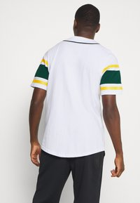 Fanatics - MLB OAKLAND ATHLETICS ICONIC FRANCHISE SUPPORTERS - Club wear - white - 2