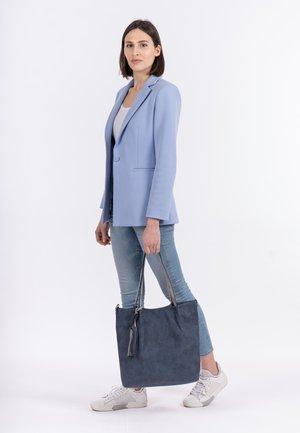 SURPRISE - Tote bag - blue grey