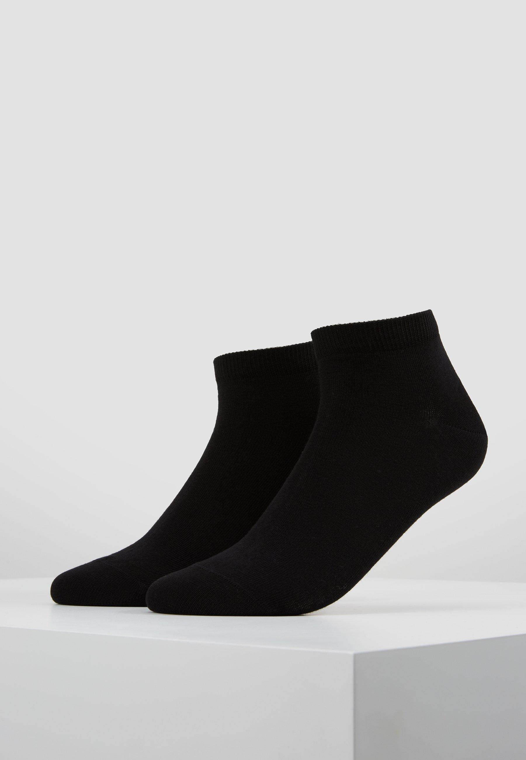 Men HAPPY 2-PACK SNEAKER - Socks - black