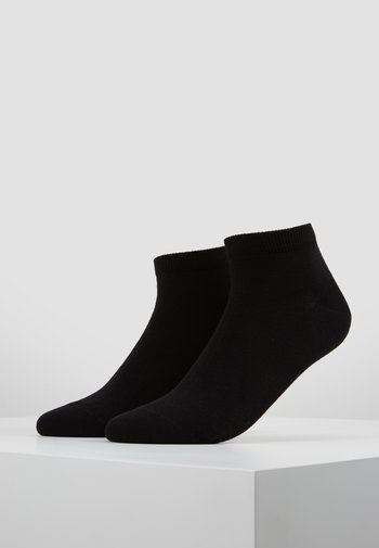 HAPPY 2-PACK SNEAKER - Socks - black
