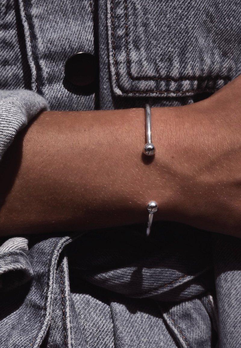 No More - BOMB  - Bracelet - silver