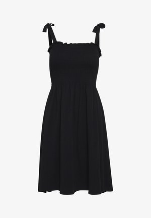 BYPANDINA SMOCKDRESS - Jerseyjurk - Black