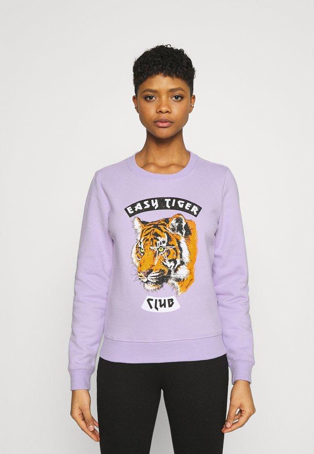 EASY TIGER BASIC - Sweatshirt - lilac