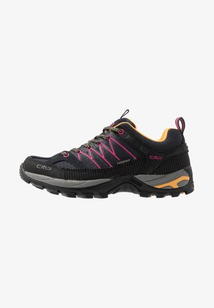 RIGEL - Hiking shoes - antracite/bounganville