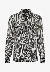 HALLHUBER - Button-down blouse - schwarz - 3