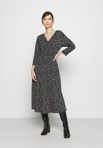 ONLPELLA WRAP DRESS - Day dress - black