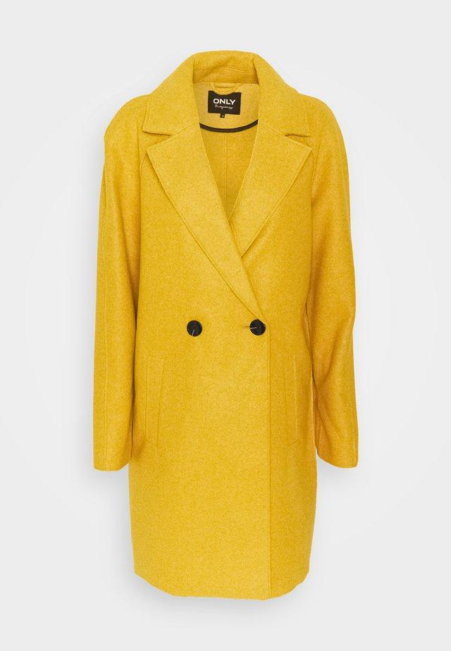 ONLBERNA BONDED COAT TALL - Cappotto classico - golden yellow melange
