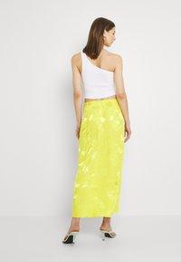 River Island - Jupe trapèze - yellow bright - 2