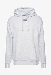 adidas Originals - HOODY - Bluza z kapturem - light grey heather - 4