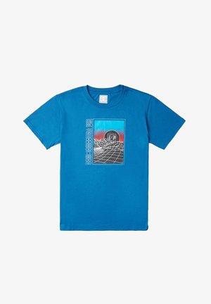 GRIDLOCK - Print T-shirt - blue sapphire