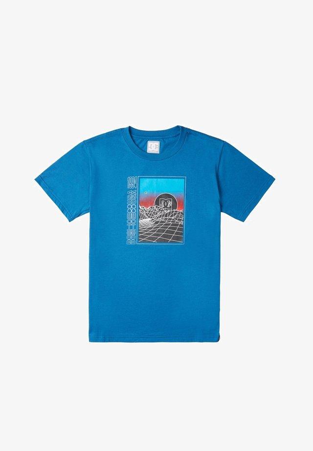 GRIDLOCK - T-shirt imprimé - blue sapphire