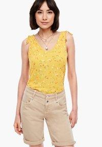 s.Oliver - TOP MIT FLORALEM PRINT - Blouse - yellow aop - 3