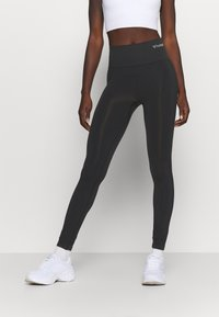 Hummel - SEAMLESS HIGH WAIST  - Leggings - black - 0