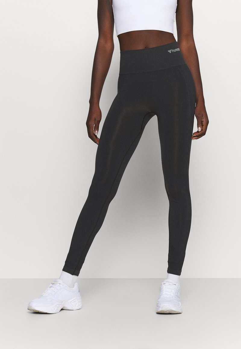 Hummel - SEAMLESS HIGH WAIST  - Leggings - black