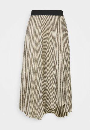 JUNGLA - A-line skirt - noir