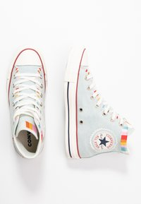 Converse - CHUCK TAYLOR ALL STAR - Høye joggesko - blue/multicolor/egret - 3