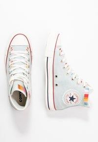 Converse - CHUCK TAYLOR ALL STAR - Baskets montantes - blue/multicolor/egret - 3